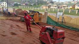 Bobcat for hire with 6m truck for only R750, 00 per load minimum of