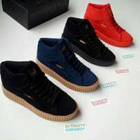 High top Puma Creepers shoes