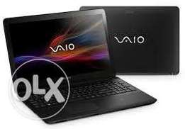 sonyvaio laptop core i5 with dedicated ram for hd graphics