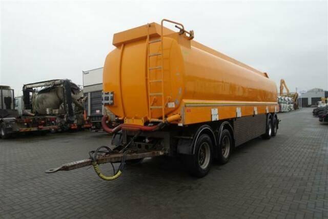 Trailer 36 4 axle tank  38500 liter - 2006