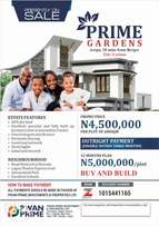 Plot of Land For Sale in Lagos Mainland ( Prime Gardens Arepo)