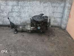 Toyota complete drive train 4 sale 2 fit any 1 ton bakkie