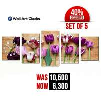 Wall art clocks