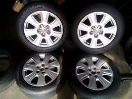 205 /55/ 16 rims with tyres for sell