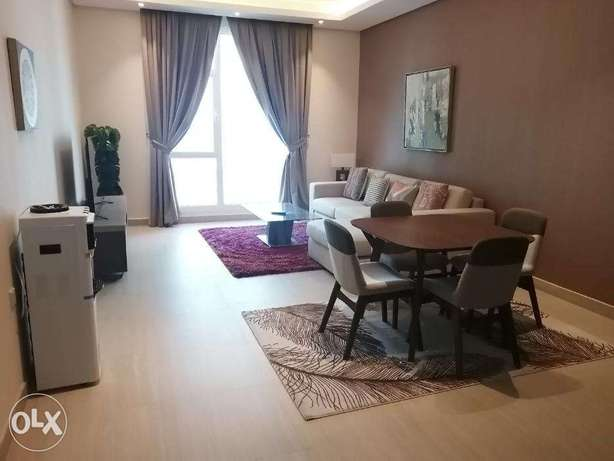 Modern Style 1 BR FF Apartment in Juffair For Rent جفير -  1