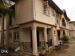 Three bed room flat up stair for rent at Igando