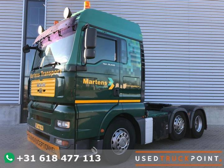 MAN Tga 26.440 Xlx / 6x2 / Tuv 7-2019 / Nl Truck - 2007