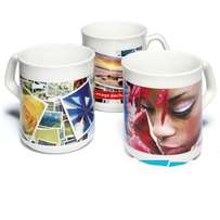 Customized cups.