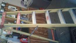 1.8m step up ladder in mint condition like new