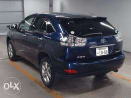 Toyota Harrier navy blue