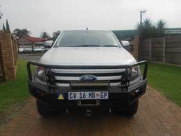 Stock 3298, 2013 Ford Ranger 3.2 TDCI XLS 4X4 Auto Matic Leather
