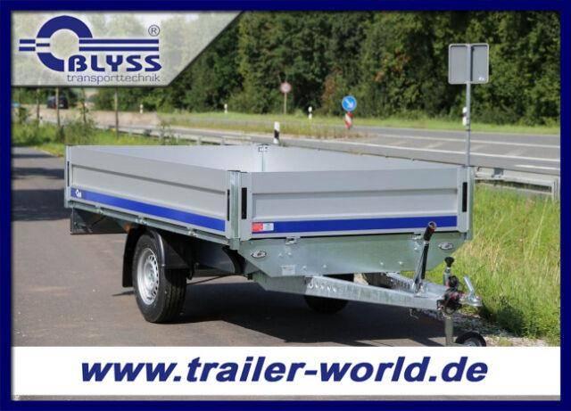 Blyss Hochlader Anhänger 1350kg GG 310x160x40 cm