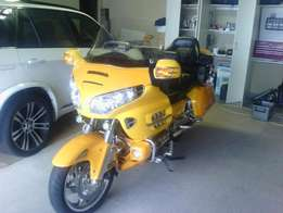 Honda goldwing 1800 for sale at reduced price