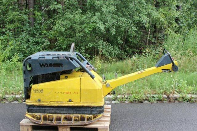 Wacker Rüttelplatte Dpu 100-70 - 2006