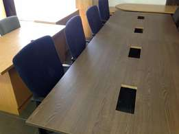 Ten seater boardroom table