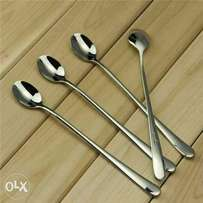 12 pieces long handle tea spoons at Don's Household