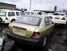 New stock! 2001 Hyundai Accent 1.3 spares. Call today!