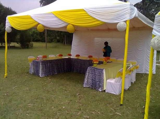 Tents,dressed chairs and tables and decor for hire Westlands - image 2