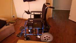 Electric wheelchair (two months old)