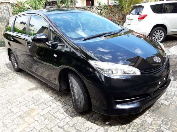 Choices of Black n Silver Toyota Wish 2010 KCP number Mombasa Island - image 4