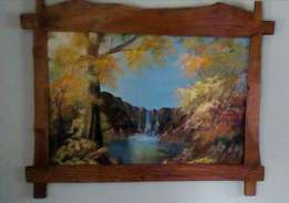 Lovely Large Original & Authentic Stefn van Emmenis Painting