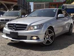 Extremely clean silver Mercedes-Benz C200,Newshape,2009 model yr 2009