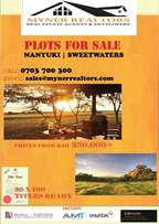 Sweetwaters- Nanyuki Plots 250k- Ready title deeds