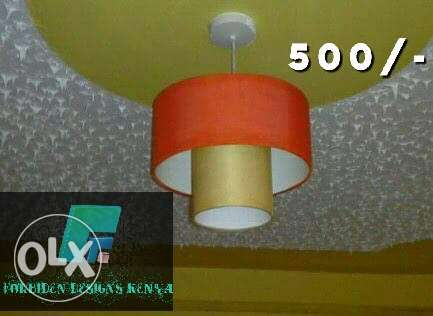 Lampshades 500/-.made from fabric cloth for interior decoration Nairobi CBD - image 3
