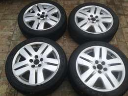 16inch Vw TDi rims and tyres