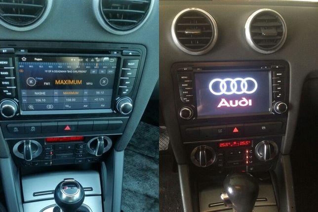 Archiwalne Nawigacja Radio 2din Audi A3 8p 2gb Ram 16gb Rom Android
