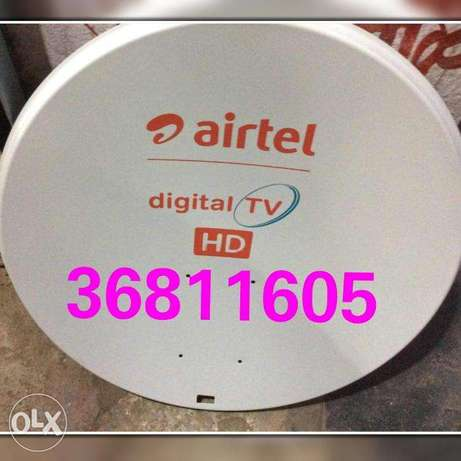 Airtel dish new and repair all available