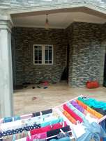 A brand new Two flat bungalow for sale at pz sapele road