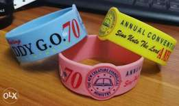 Custom Silicon Wristbands I PVC and LED and Event Wristbands