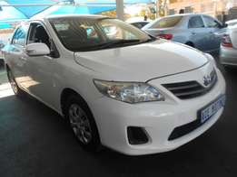 2012 Toyota Corolla Proffessional For R114000