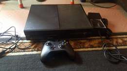 Neatly Used Xbox One Console With Games