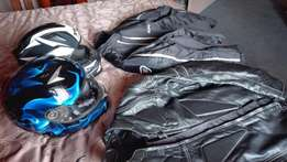 2Helmets and 2Jackets!