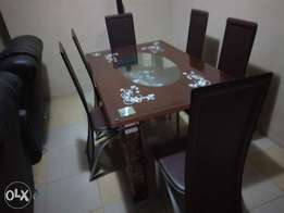 Awesome 998 Six-sitter Dining Table Set