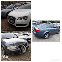 Audi A4 and A3