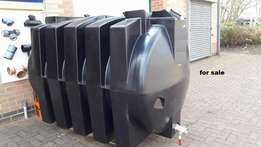 potable water storage tank, 5,000ltr for sale