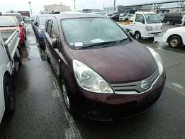 Nissan Note Wine Red new arrival