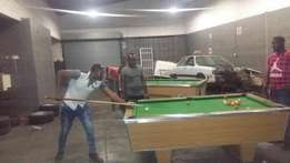 3 pool tables for sale