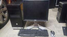 "Complete PC for sale with DVD writer 2 Gig ram and a 17"" Lcd"