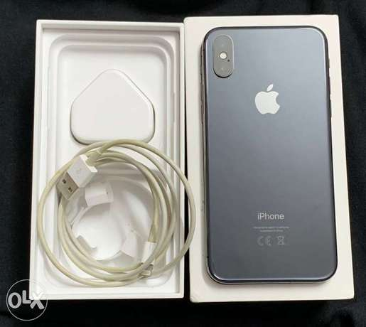 Iphone X 64 for sale 6 أكتوبر -  2
