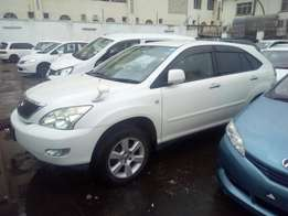 Just arrived KCN Toyota Harrier Pearl white number ready