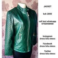 Available leather jackets