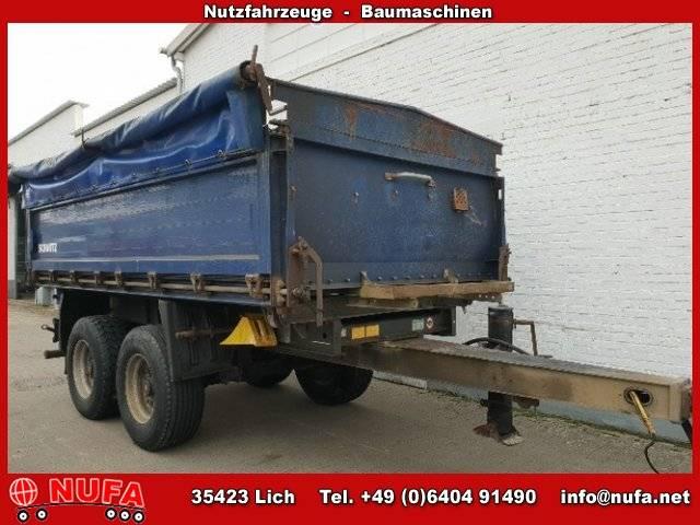 Schmitz Cargobull ZKI 18 Alubordwände abklappar-pendelnd - 2009