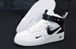 Archiwalne: Nike Air Force 1 Low Split White Black, 363738