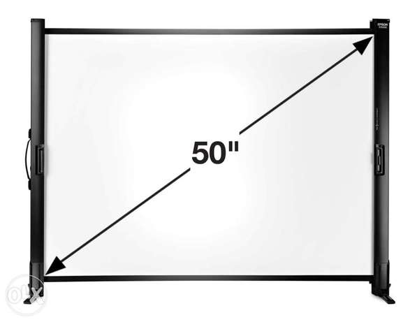 """epson Projector screen 50"""" inch"""