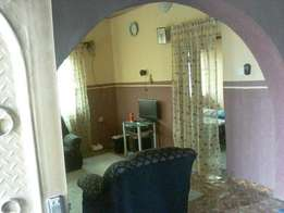 3 Bedroom Flat with 2 Room and Parlour self con for sale in Apata