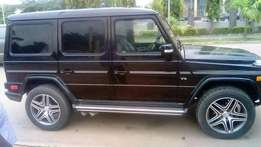 Benz g Wagon exact 2007 upgraded to 2013